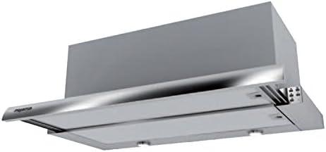 Mepamsa Maxima 70 V2 Campana aspirante extraplana de inox, 20 W, 3 Velocidades, Acero inoxidable: Amazon.es: Grandes electrodomésticos