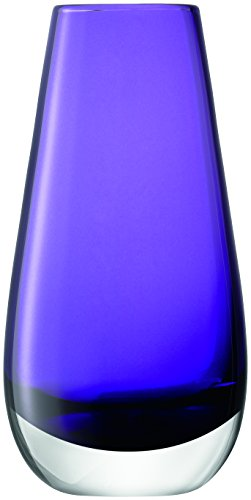 LSA International Flower Color Bud Vase, H5.5, Violet -