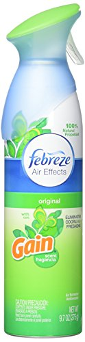 Febreze Air Effects Air Freshener Spray - Gain Original Scent - Net Wt. 9.7 OZ (275 g) Each - Pack of 3