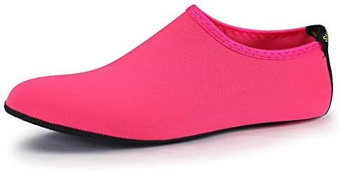 新しいピンクの女性と男性のダイビングソックス速乾性シュノーケリングソックス大人のビーチ 上流の靴ピンク ポータブル (色 : Pink, Size : US8)