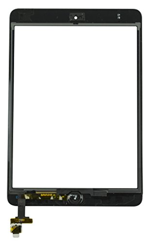 iPad Mini 1 Screen Replacement LCD, Glass Digitizer and Home Button Premium Kit by RepairPartsPlus (White)