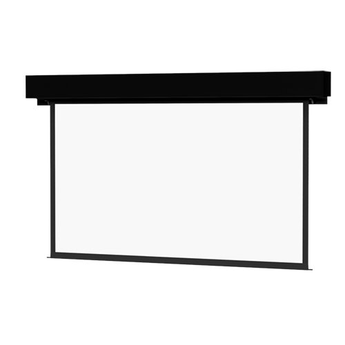 Da-Lite Boardroom Electrol Video NTSC Format - Projection screen (motorized, 120 V) - 200 in ( 508 cm ) - 4:3 - Matte White - black