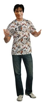 Charlie Sheen Adult Costume Kit Size Standard (One Size) - Charlie Sheen Adult Costumes Kit