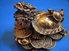 Treasure Dragon Tortoise brass