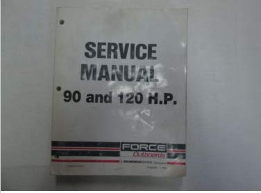 (1992 Force Outboards 90 and 120 HP Service Manual)