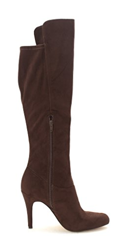 Boots Toe INC High Concepts Coco Tacy Pointed Knee Fashion International Dark Womens wOOrqXz