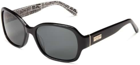 kate spade new york Women's Akira Polarized Rectangular Sunglasses