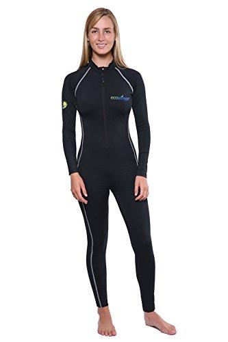 (Sun Protection Full Body Swimsuit Stinger Suit Dive Skin UPF50+ Black XXXL)
