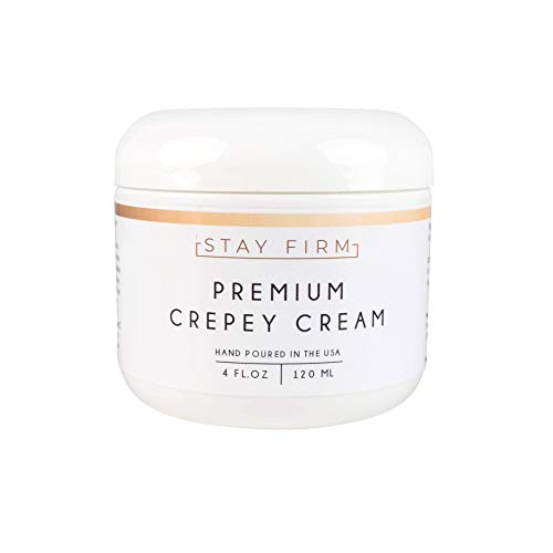 Anti-Aging Cream - Skin Tightening Cream - Skin Anti-Aging Treatment - Premium Crepey Cream - 4 oz. - Made in USA - Stay Company