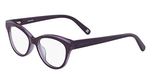 Eyeglasses NINE WEST NW 5131 545 PURPLE GLITTER 49mm