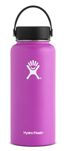 Hydro Flask, Wide Mouth Flex Cap Raspberry 32 Ounce