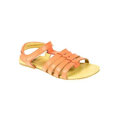 Move Kinder Sandalen Leder Lachsfarben