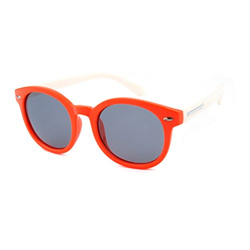 Gafas Black de Clásicas Pink Gafas Shades Color Style Sol UV400 de Childrens Arrow Lens Gafas Unisex Orange Sol qIUqw7B