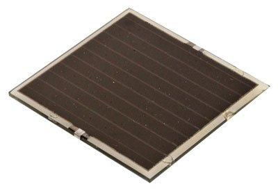 CIS SOLAR PANEL,4.7-5VDC,0.25W,60X60X2MM,80MA @3.2VDC