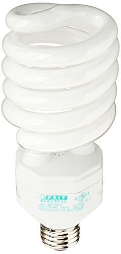 Feit Electric ESL40T/ECO High Lumen Twist CFL 150W Equivalent Light Bulb, Soft White