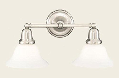 Old Bronze Two Light Wall Sconce from the Edison Collection (415 Edison Collection)