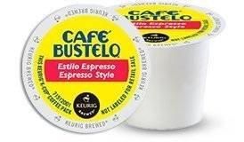 Café Bustelo Espresso Roast 48 K Cup Packs (Cafe Bustelo Keurig)