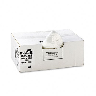 Classic™ Low-Density Can Liners, Heavy Grade, .6 Mil. Gauge, 55 Gallon (WBIWRMC48)