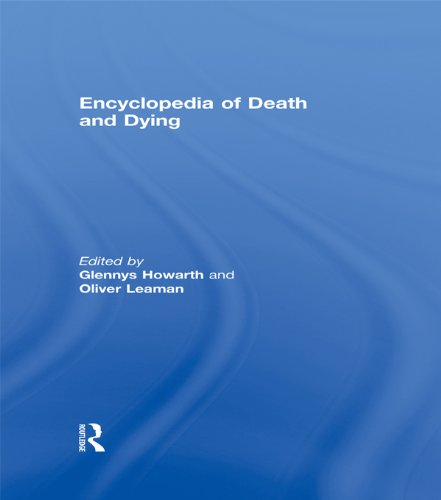 Encyclopedia of Death and Dying Pdf