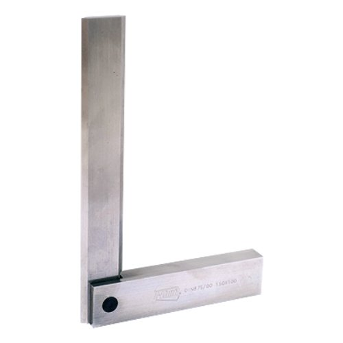 Z-Limit 4909-0006 Ultra Series Machinist Stainless Steel Square, 6'' Blade Length, 4'' Beam Length, 12''