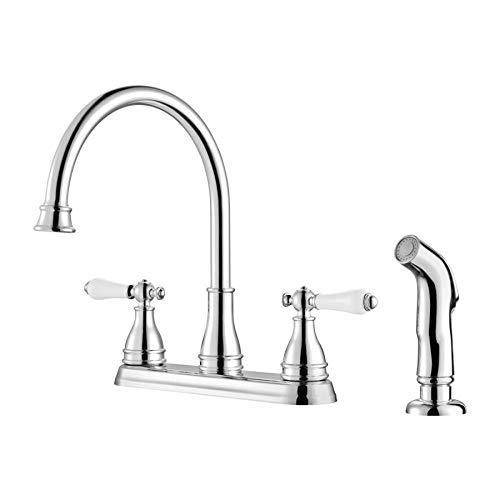 - Sonterra Pfister Two Handle Kitchen Faucet F-036-4SNC