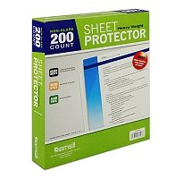 200/pk Samsill Clear Sheet Protector Heavy Weight