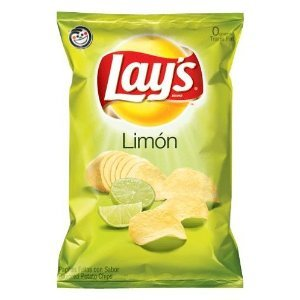 Lay's Limon Flavored Potato Chips 8oz Bags (Pack of 3) ()