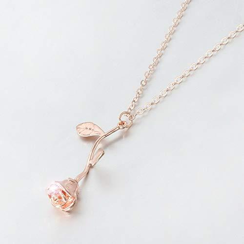 Mikash Fashion Women Jewelry Pendant Crystal Choker Chunky Statement Chain Bib Necklace   Model NCKLCS - 42082  