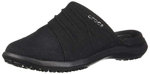 Crocs Women's Capri Mule Black/Black
