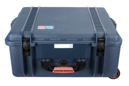 PortaBrace PB-2750BKF ハードケース & ソフトインテリアバックパック デジタル一眼レフカメラ/ビデオカメラ/コプターに最適 ブルー (ハード) ブラック (ソフト) バッグ   B00U1FZSMY