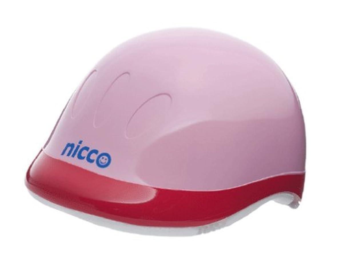[해외] nicco 니코 하드쉘 헬멧 핑크 KH001