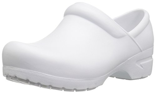 Slip Resistant Uniform - Anywear Women's GUARDIANANGEL Uniform Dress Shoe, White, 12 M US