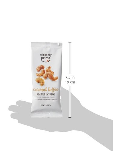 Wickedly Prime Roasted Cashews, Coconut Toffee, Snack Pack, 1.5 Ounce (Pack of 15) by Wickedly Prime (Image #9)