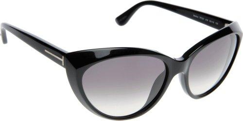 Tom Ford Lunettes de soleil 0231 Martina Pour Femme Shiny black / Gradient smoke Noir