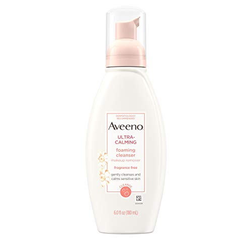 Aveeno Ultra-Calming Foaming Cleanser an...