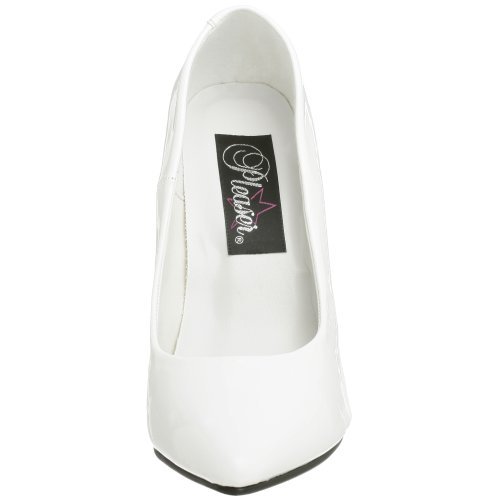 Women's Pump White Seduce 420V Patent PU W Pleaser d8xSqwv6
