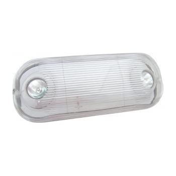 This Item Outdoor Wet Location Two Head Emergency Light