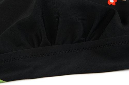 Angerella Up Noir Push Classique Vintage Bain Maillot Style Bikini Set 1 De Femmes raPqrw