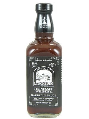 - Historic Lychburg Tennessee Whiskey Barbecue Sauce 100 POOF! - Hot & Spicy