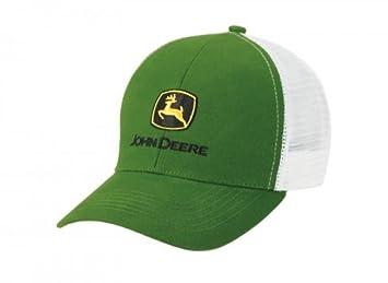 John Deere Classic gorra de malla verde, blanca: Amazon.es ...