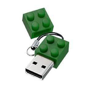 Euroge Tech® 8GB Blocks Shape USB Flash Drive Memory Stick Green