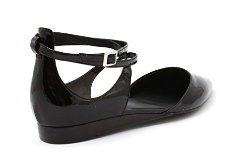 Leather What Edith Black Shank Patent Open For Scarpa qwnZSU