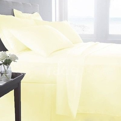 "15"" Deep Pocket 650 TC Egyptian Cotton Bed Sheets for Cam..."