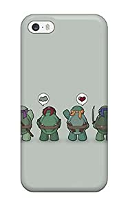 High Quality Shock Absorbing Case For Iphone 5/5s-teenage Mutant Ninja Turtles