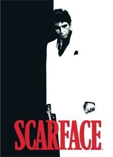 Shopping Done Easy Licensed Queen Size Mink Blanket- Scarface (Scarface Decor)