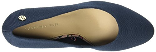 Tommy Hilfiger FW0FW00288, Zapatos de Tacón Mujer Azul (Midnight 403)