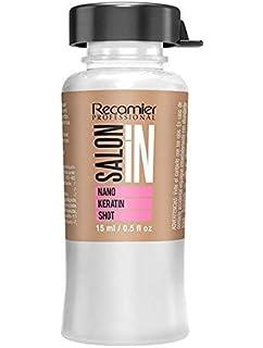 Recamier SalonIn Nano Keratin Shot Beauty Restores Line Con Nano Particulas de Queratina Restauran Desde El