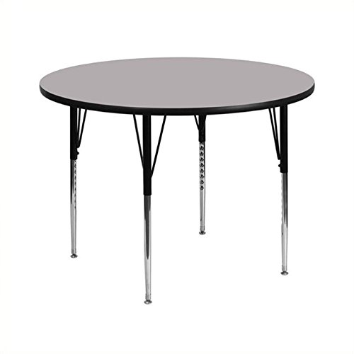 Rosebery Kids Round Activity Table in Gray