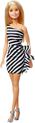 Barbie 60th Anniversary Doll Black & White Dress