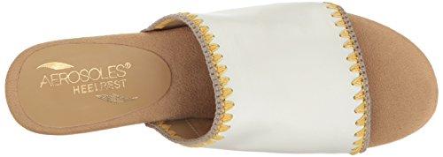 Aerosoles Womens Lifespan White Leather zPE1e1izSo
